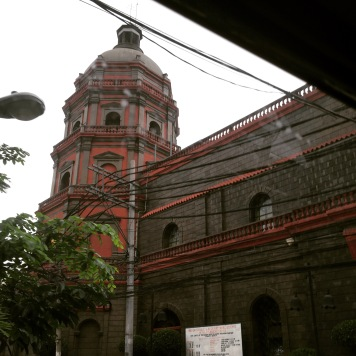 The Binondo Cathedral, seen as you enter the area.